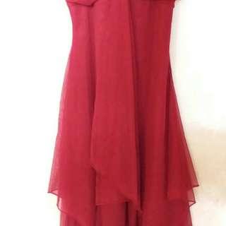 Dress Merah Panjang #horegajian