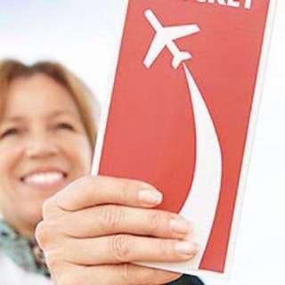 香港航空美國洛杉磯經濟客位機票兩張