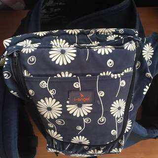 i-Angel Irene Hipseat Carrier (Navy Floral)