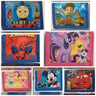 Wallet with Coin Compartment for Kids (Ready Stock)