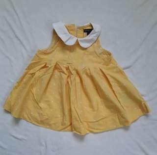 Baby Gap Yellow Dress
