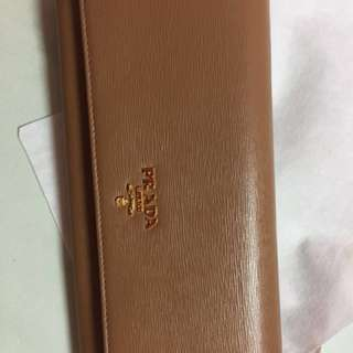 Brand New Authentic Prada wallet on chain