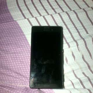 Selling my prel8ve sony experia M4(defective) for parts only