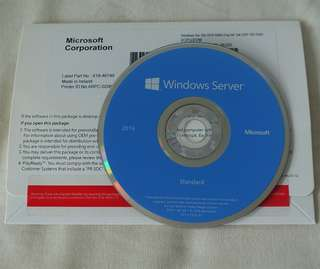 [*NEW*] Microsoft Windows Server 2016 Standard Edition, 2CPU/2VM