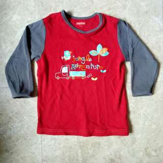 Fisher Price cotton long sleeves