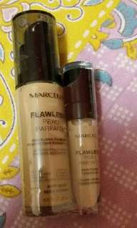Marcell Flawless Foundation and Concealer in Buff Beige