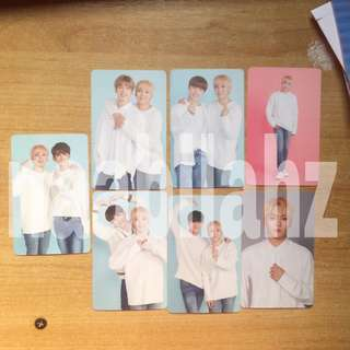 [available] seungkwan trading cards