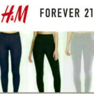 H&M leggings for adult (s,m,l,xl avail sizes)
