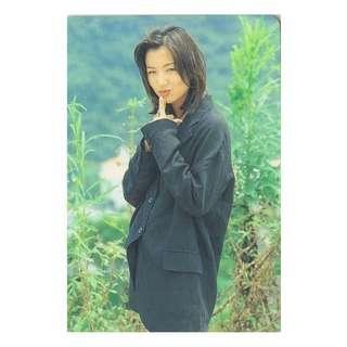 13-R,YES CARD鄭秀文-SAMMI,背面曲詞-不如你........