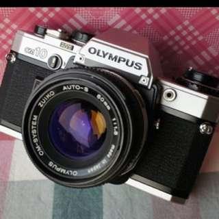 Olympus om10 Om 50mm f1.8 底片 單眼相機 鏡頭 一卷底片