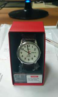Timex Leather Watch (Brand New!)