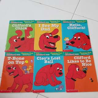 Clifford books for kids