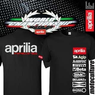 Aprilia Racing RS125 Sponser shirt T-shirt