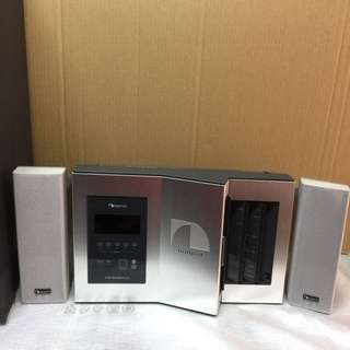 Nakamichi sound space 8 stereo music systems