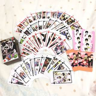 Readystock !!! Shinee Playing Card (Thick & Non-Paper)