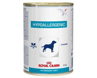 Royal Canin Canine Hypoallergenic 400g Wet Veterinary Diet Dog Food
