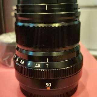 BNIB Fujifilm XF50mm F2 lens