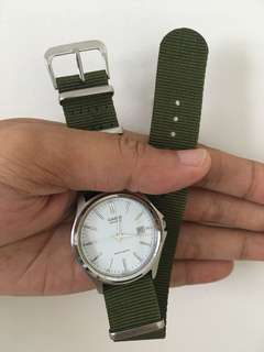 Casio with new nato strap