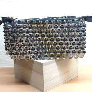 Aluminium Tab Clutch Bag (Upcycled Product)