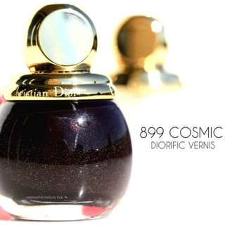Dior Limited Edition Nail Polish in 899 Cosmic