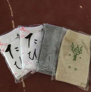 日本温泉酒店襪子4對(free size)