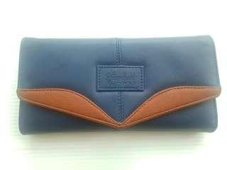 Dompet panjang banyak kantong kulit murah