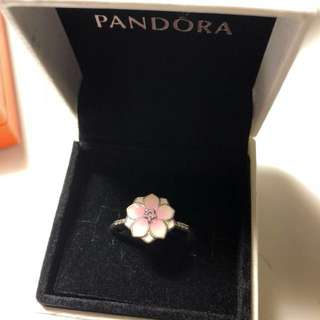 Pandora Magnolia Bloom Ring 介指 戒指