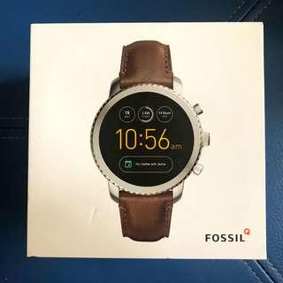Fossil Q Explorist Gen 3 智能手錶