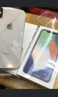 Kredit Iphone X 64GB Silver NEW