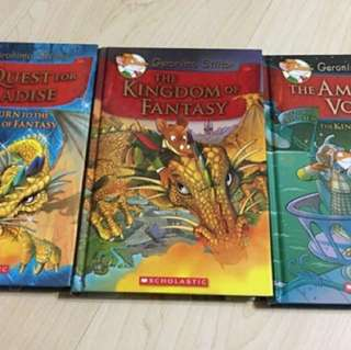Geronimo Stilton Books hardcover