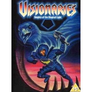 VISIONARIES COMPLETE SERIES (1987)