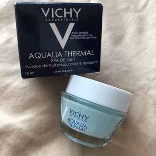 BNIB Vichy Aqualia Thermal Nigh Spa Mask