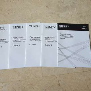 Trinity theory past papers grade 3 grade 4