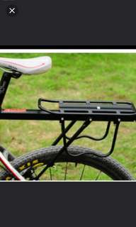 In stock! Brand new bicycle aluminium mount rear seat rack ( high quality and strong)