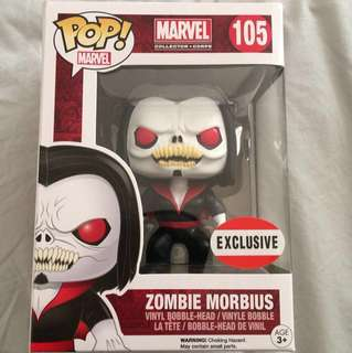 NEW Marvel Collector Corps EXCLUSIVE Zombie Morbius Pop! Vinyl