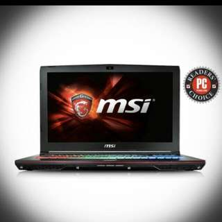 MSI gaming pro 17Intch