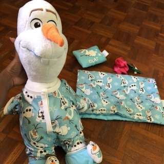 Olaf (customised build a bear doll)
