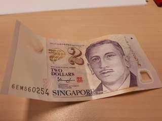 Sins $2 Note