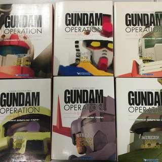 Gundam Toybook collection一套六本