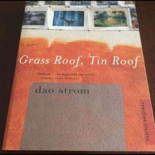 Grass roof tin roof