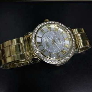Geneva (New) Gold uni-sex watch