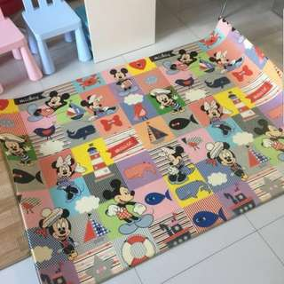 Playmat thick 2 side