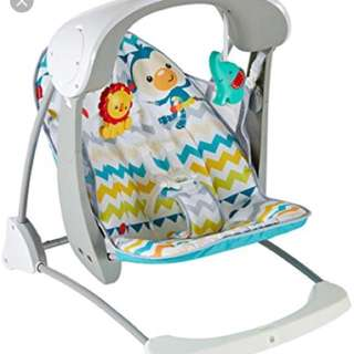 Fisher price authomatic swing and seat deluxe