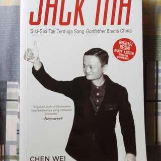 Jack ma sisi-sisi tak terduga sang godfather bisnis china. Karya chen wei
