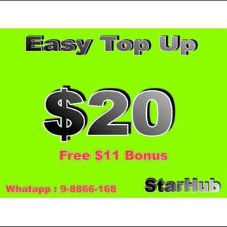 Easy Topup, starhub