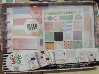 Mini Happy Planner Pastel