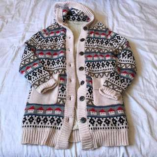 Cozy cute lined sweater
