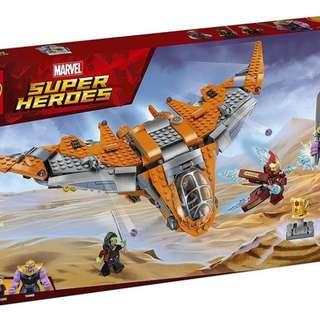 76107 LEGO THANOS: ULTIMATE BATTLE