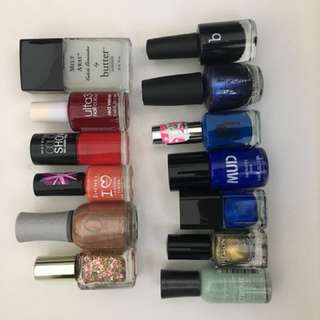 13 Nail Polishes ALL FOR $20