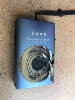 Canon PowerShot SD1100IS 8MP Digital Camera with 3x Optical Image Stabilized Zoom (blue)